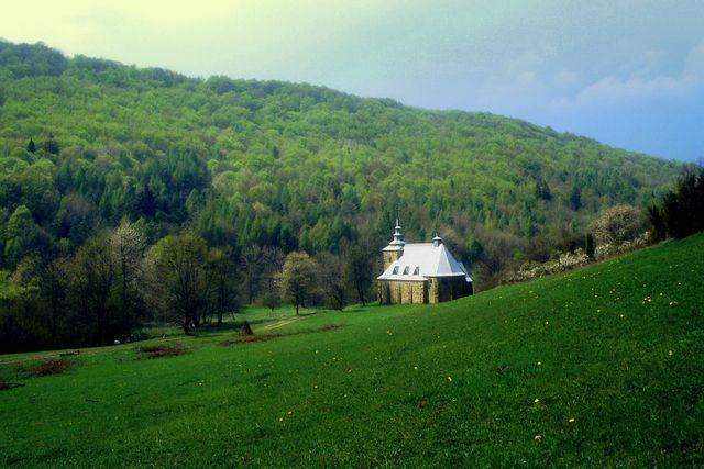 Zdjęcia: Huta Polańska, Beskid Niski, Dobre miejsce, POLSKA