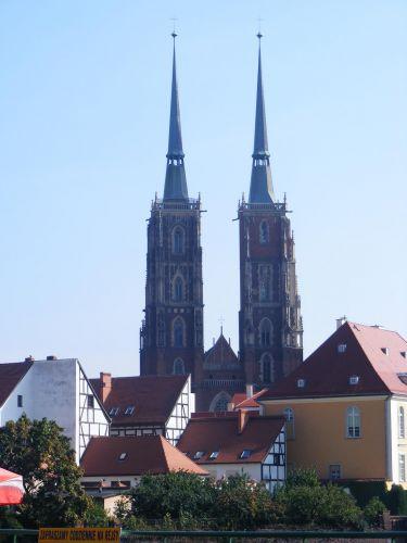 Zdjęcia: Ostrów Tumski, Wrocław, Katedra, POLSKA