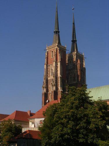 Zdjęcia: Ostrów Tumski, Wrocław, wierze Katedry, POLSKA