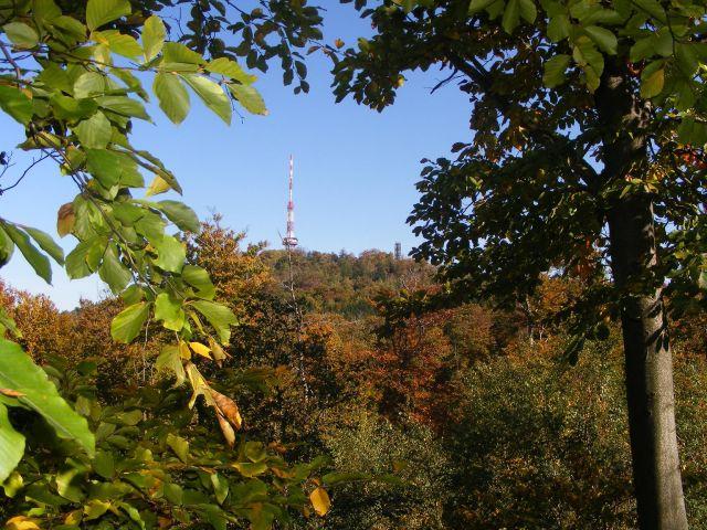 Zdjęcia: Sobótka, dolnośląskie, Ślęża jesienną porą, POLSKA