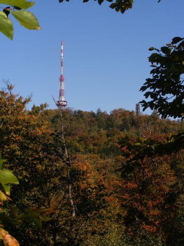 Zdjęcia: Sobótka, dolnośląskie, Ślęża jesienią, POLSKA