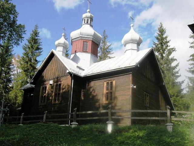 Zdjęcia: Kamianna, Beskid Sądecki, Cerkiewka, POLSKA