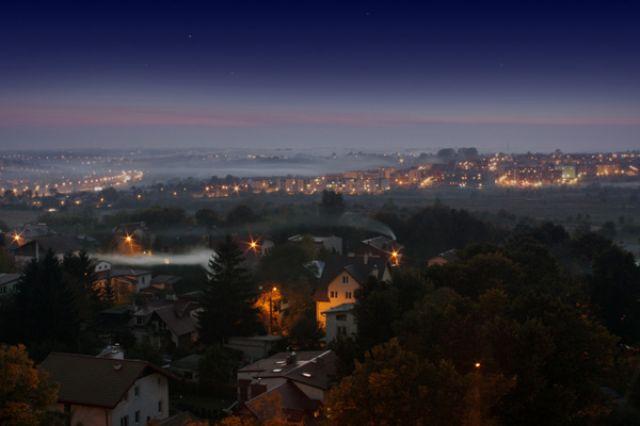 Zdjęcia: Lublin, Lublin, Otulone jesienną mgłą..., POLSKA