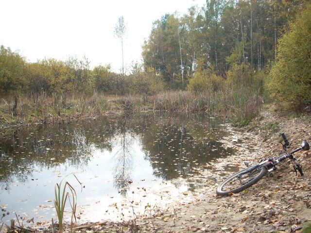 Zdjęcia: Mazowiecki Park Krajobrazowy, Mazowsze, Jesienne jeziorko., POLSKA