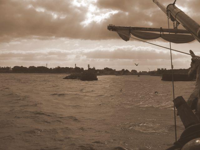 Zdjęcia: Ustka, Pomorze, Wejście do portu, POLSKA