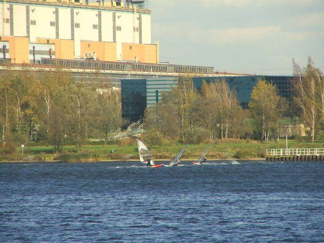 Zdjęcia: Zalew rybnicki, Sport w mieście, POLSKA