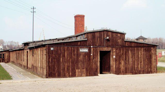 Zdjęcia: Majdanek, Lublin, Jeden z baraków, POLSKA