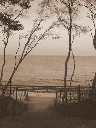 Zdjęcia: Łeba, Zejście na plażę, POLSKA