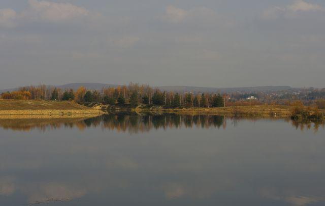 Zdjęcia: Pogoria, jesień nad wodą, POLSKA