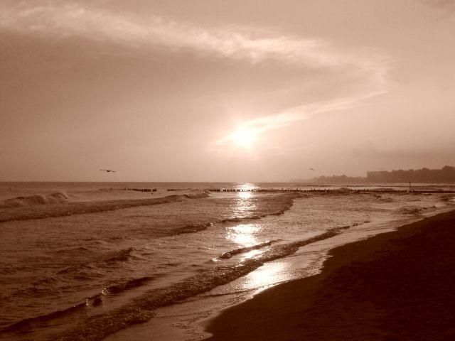 Zdjęcia: Kołobrzeg, wschód  słońca, POLSKA