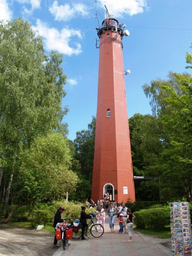 Zdjęcia: Hel, pomorskie, Latarnia morska na Helu., POLSKA