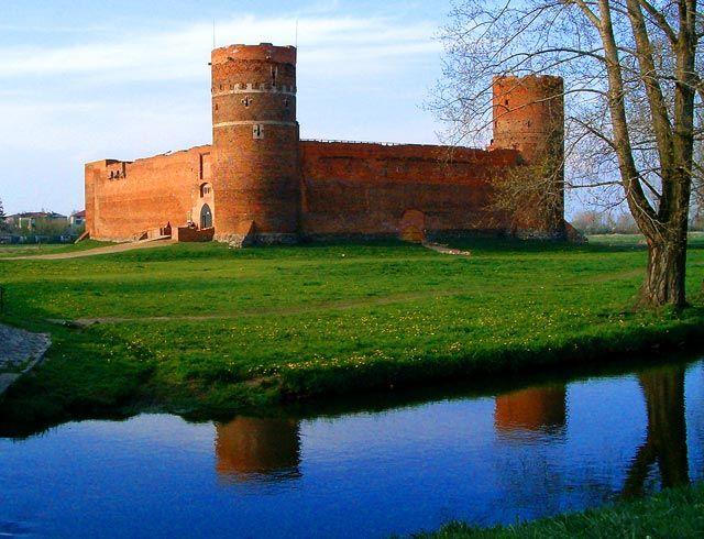 Zdjęcia: Ciechanów, Zamek Książąt Mazowieckich z XIV wieku, POLSKA