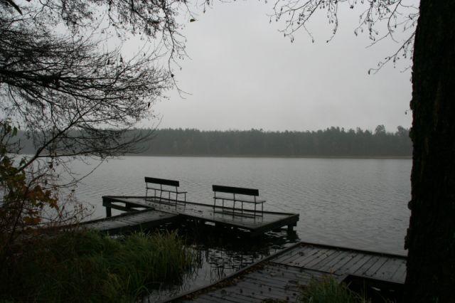 Zdjęcia: wikno, mazury, jesienna samotność, POLSKA