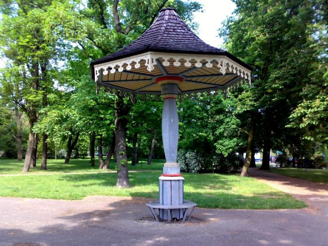 Zdjęcia: park w Toruniu, Kujawy, Grzybek, POLSKA