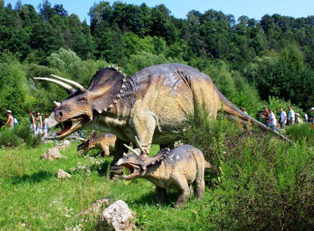 Zdjęcia: Bałtów, Świętokrzyskie, Dinozaury, POLSKA