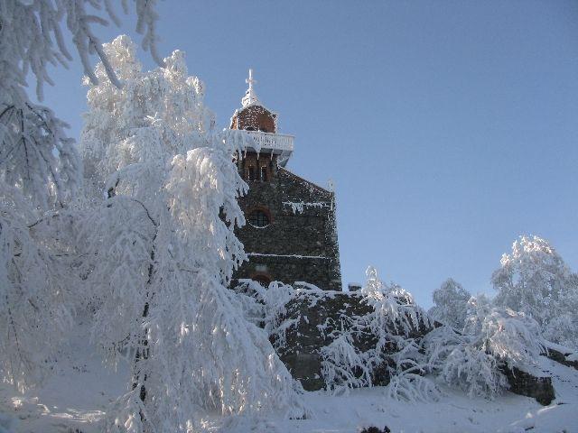 Zdjęcia: Ślęża, woj. dolnośląskie, kościółek, POLSKA
