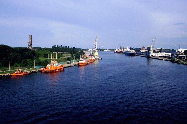 Zdjęcia: Gdańsk, port gdański, POLSKA