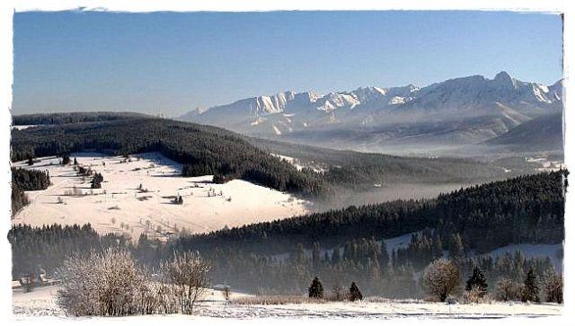 Zdjęcia: ok.Witowa, -Tatry, Zimowy pejzaż, POLSKA