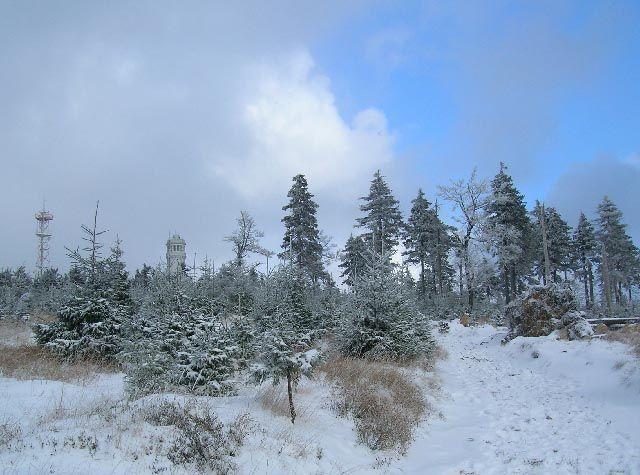 Zdjęcia: Góry Sowie, Dolny Ślask, zima, POLSKA