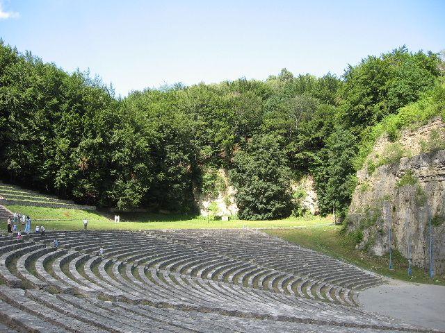 Zdj�cia: G�ra �w.Anny, �lask Opolski, amfiteatr, POLSKA
