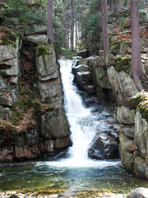 Zdjęcia: jeleniogórskie, wodospad przesieka, POLSKA