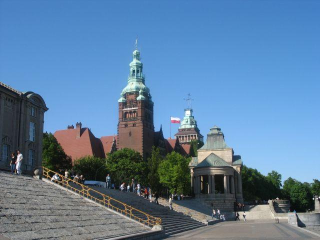 Zdjęcia: Szczecin, Wały Chrobrego, SZczecin, a to Szczecin, POLSKA