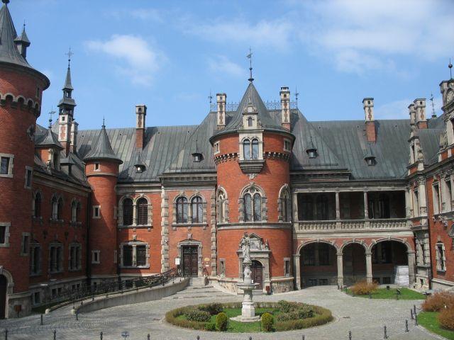 Zdjęcia: Pławniowice, ŚLĄSK, pałac  Ballestremów, POLSKA