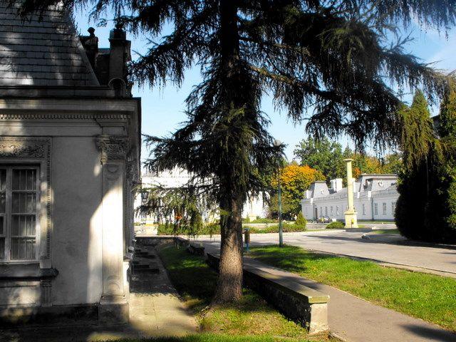 Zdjęcia: park i d.pałac, Kozienice, wrzesień w Kozienicach, POLSKA