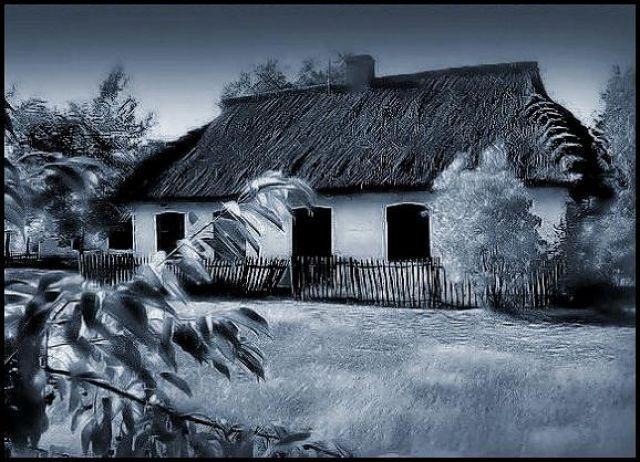 Zdjęcia: Maurzyce, łodzkie, Stara chata, POLSKA