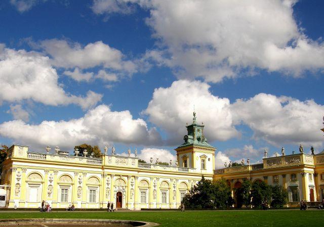 Zdjęcia: Warszawa, Mazowsze, Jesienny spacer po Wilanowie, POLSKA