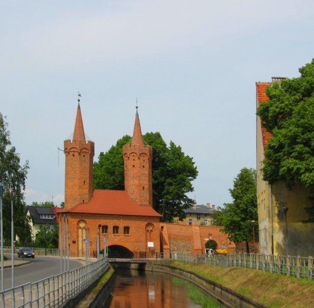 Zdjęcia: Stargard, Zachodniopomorskie, Brama Portowa w moim mieście, POLSKA
