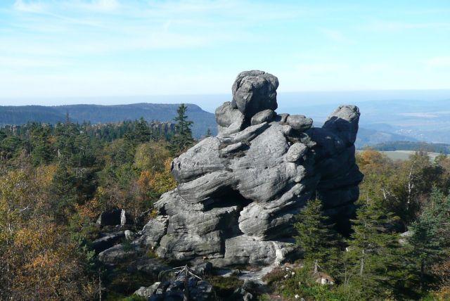 Zdjęcia: Szczeliniec, Góry stołowe, Kwoka, POLSKA