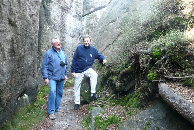 Zdjęcia: Szczeliniec, Góry Stołowe, Żywe skały, POLSKA