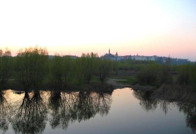 Zdjęcia: Sandomierz,  Świętokrzyskie, Pejzaż z Sandomierzem, POLSKA