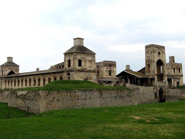 Zdjęcia: Ujazd, Swiętokrzyskie, ruiny zamku Krzyżtopór, POLSKA