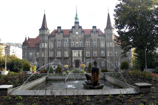 Zdjęcia: Wałbrzych, Dolny Śląsk, Ratusz, POLSKA