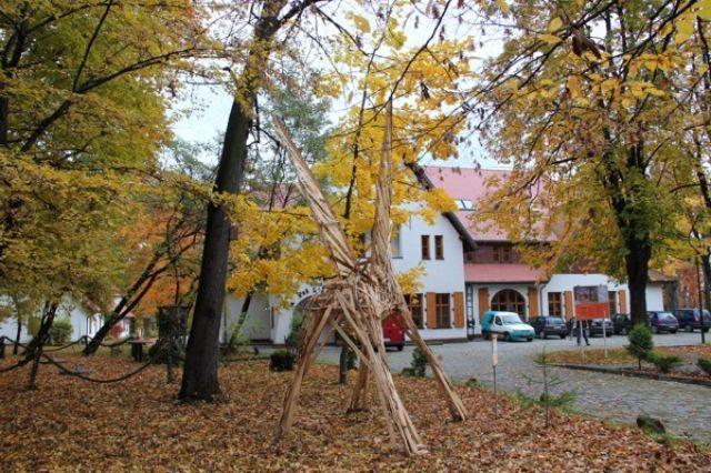 Zdjęcia: KATOWICE, dzielnica Giszowiec, Jesień 2010 - wlądował PEGAZ., POLSKA