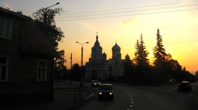 Zdjęcia: Białystok, Podlasie, Wschód słońca [w Białymstoku?], POLSKA