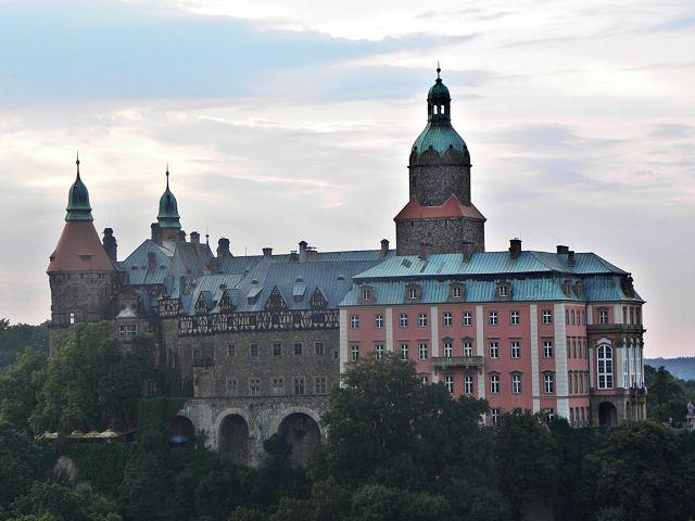 Zdjęcia: Wałbrzych, Zamek Książ, POLSKA