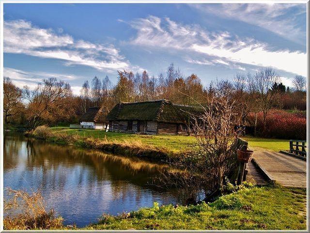 Zdjęcia: Muzeum Wsi Lubelskiej, lubelszczyzna, Pejzaż jesienny, POLSKA