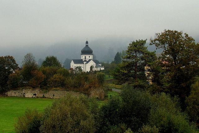 Zdjęcia: Myczkowce, Bieszczady, Myczkowce - Kościół, POLSKA