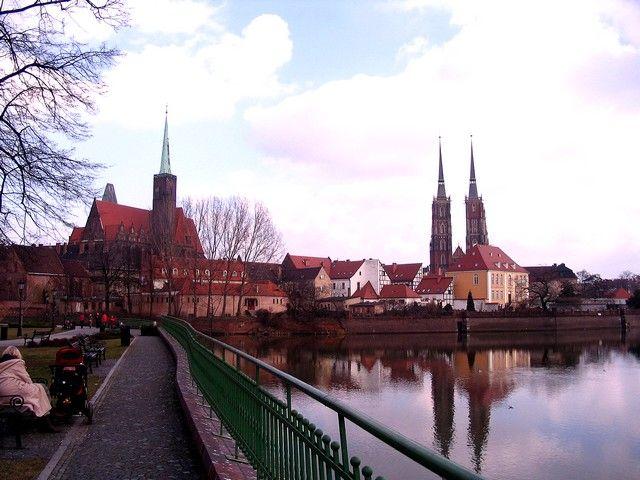 Zdjęcia: Wrocław, Dolny Ślask, Ostrów Tumski, POLSKA