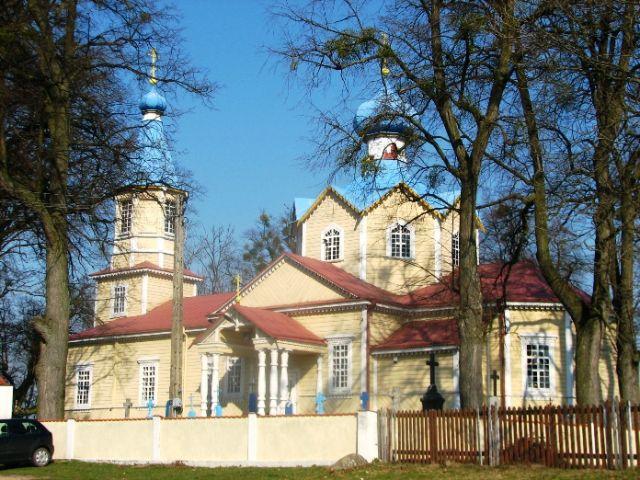 Zdjęcia: CERKIEW W ŁOSINCE, PODLASIE, CERKWIE PODLASIA, POLSKA