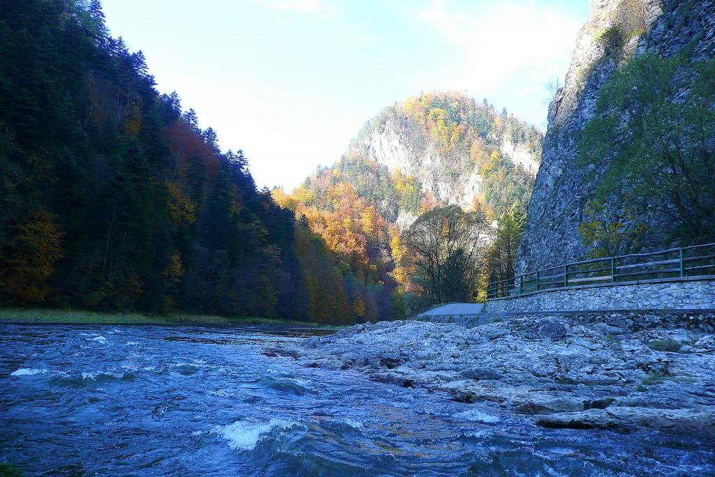 Zdj�cia: Dunajec, Pieniny, Prze�om Dunajca I, POLSKA