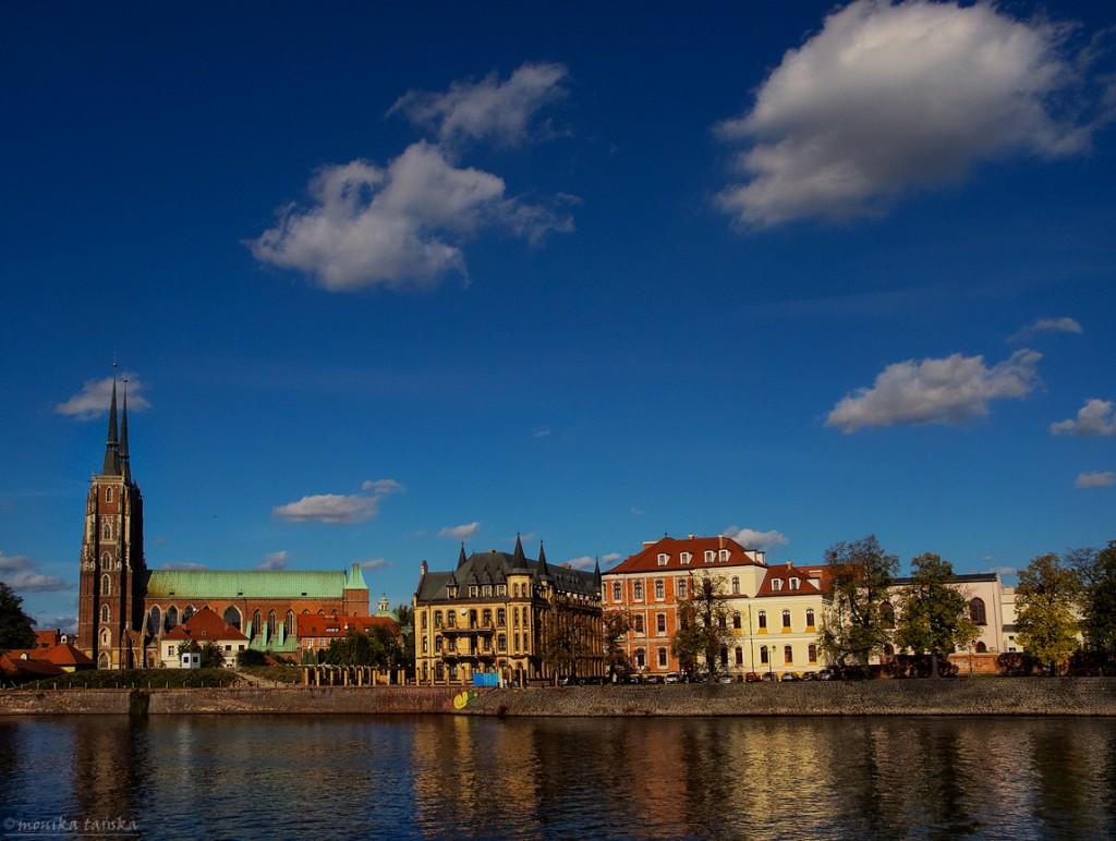 Zdjęcia: Wrocław, Wrocław, Nad Odrą , POLSKA