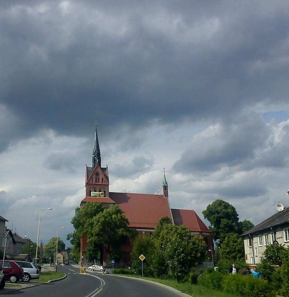 Zdjęcia: Chociwel, zachodniopomorskie, burzowo..., POLSKA