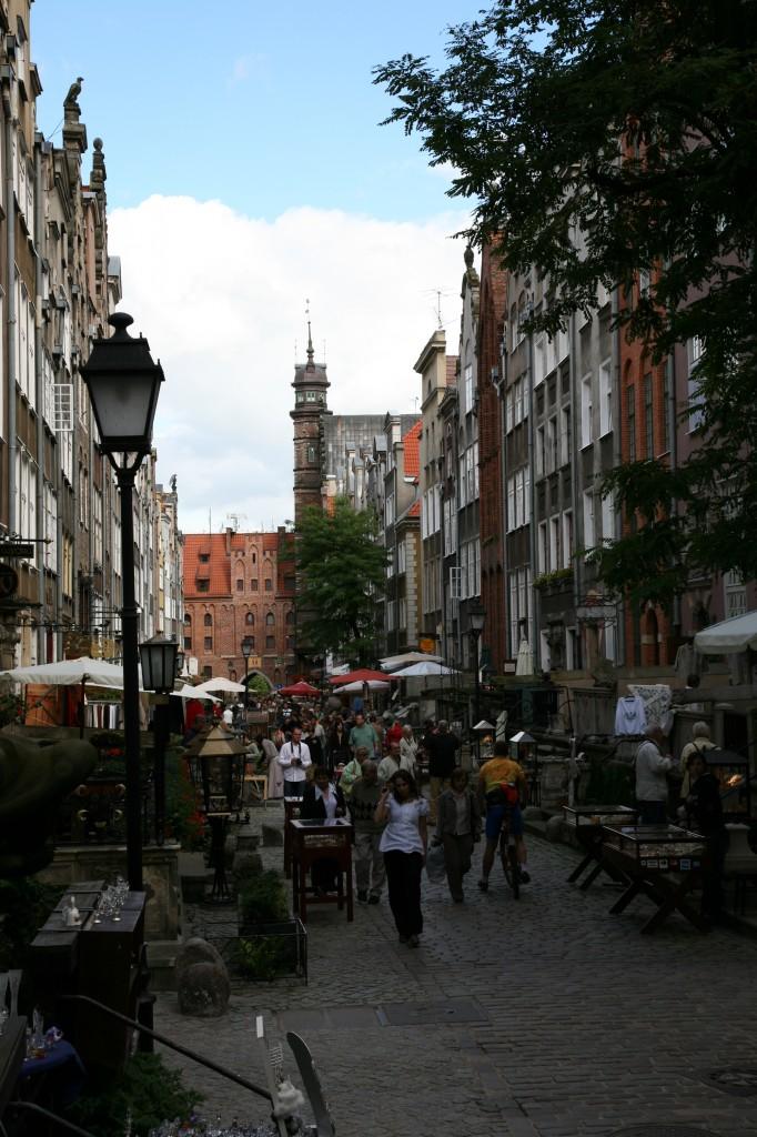 Zdjęcia: Gdańsk, -Pomorze, Ulica Mariacka, POLSKA