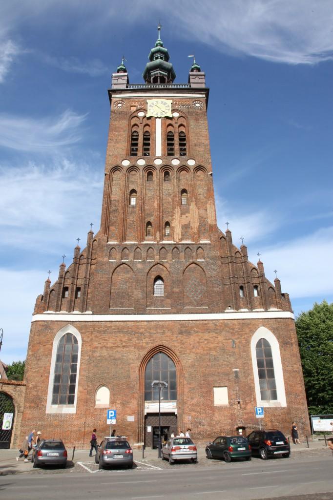 Zdjęcia: Gdańsk, Pomorze, Kościół Św. Katarzyny, POLSKA