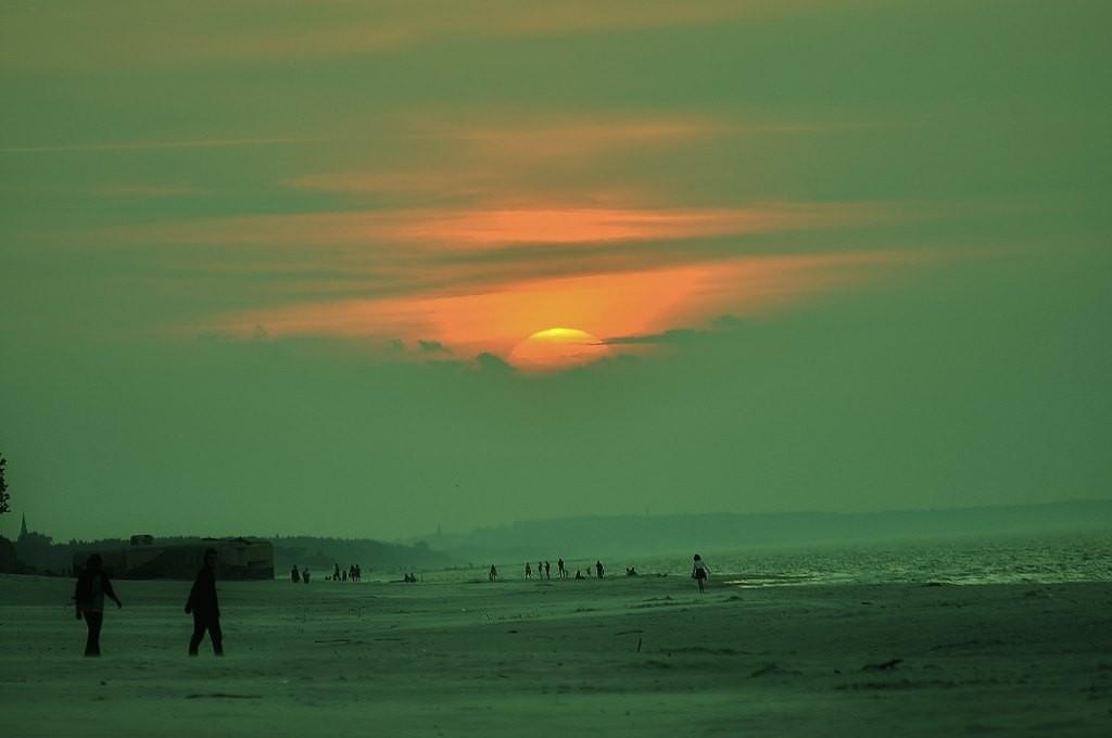 Zdjęcia: Jastarnia, Pomorze, Jastarnia, zachód Słońca, POLSKA