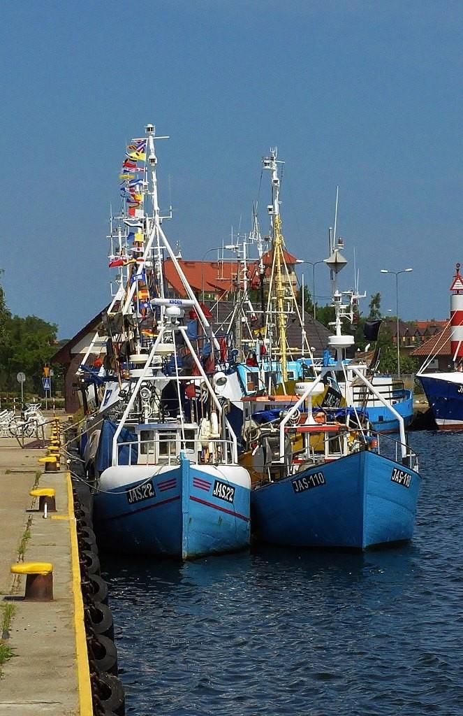 Zdjęcia: Jastarnia, Pomorze, Jastarnia , port, POLSKA